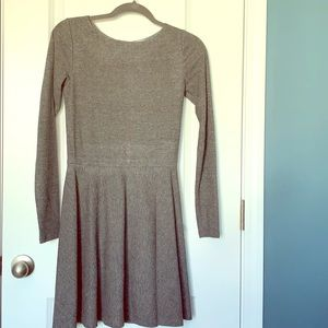 Alice + Olivia long Sleeve fit and flair dress
